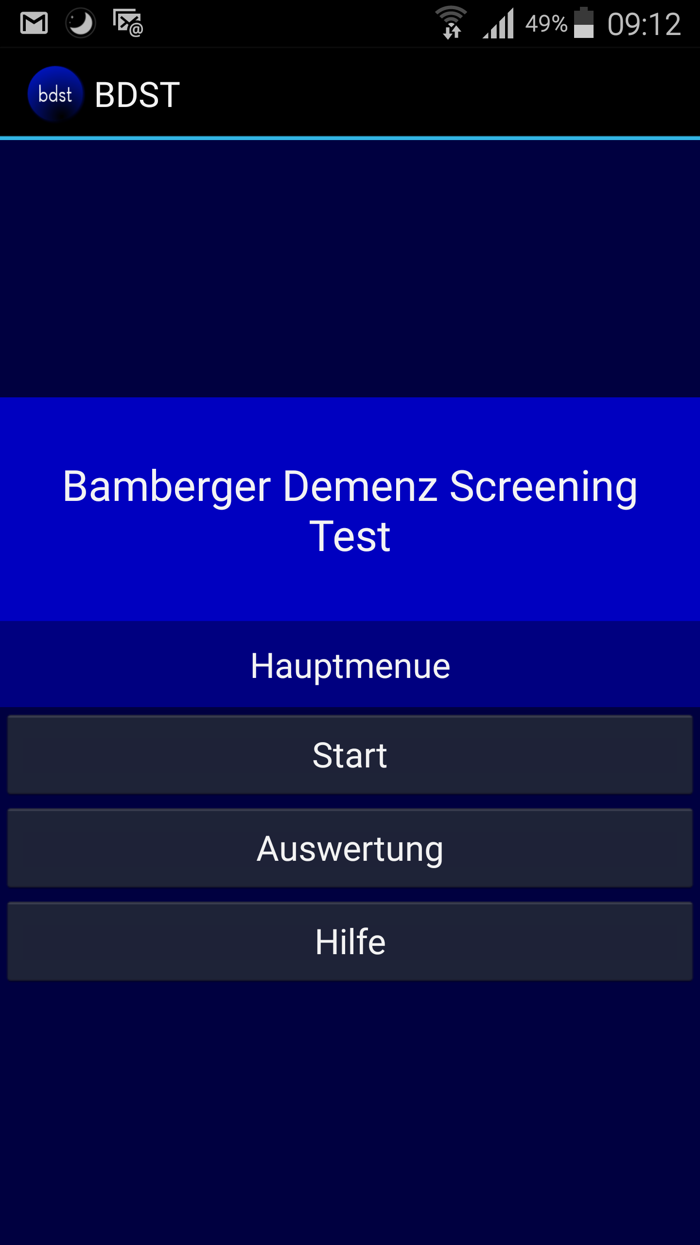 Bamberger Demenz Screening Test